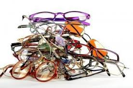 Pile of glasses